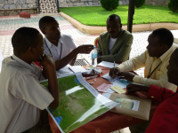 Integrated land use planning in action. Photo: EcoAgriculture Partners